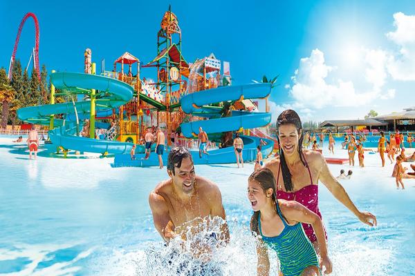 Mirabilandia Parco Acquatico Spiaggia Mirabeach Hotel Anthisa Lido di Savio